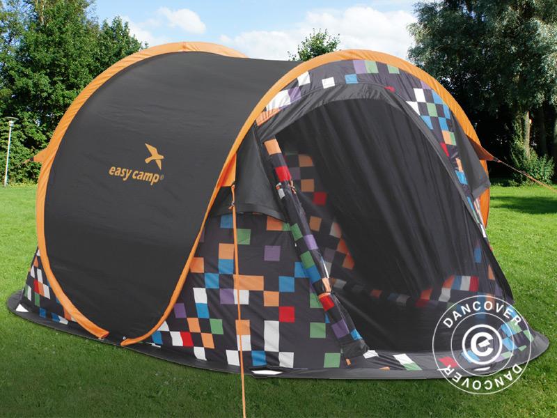 Namiot kempingowy na letnie wakacje