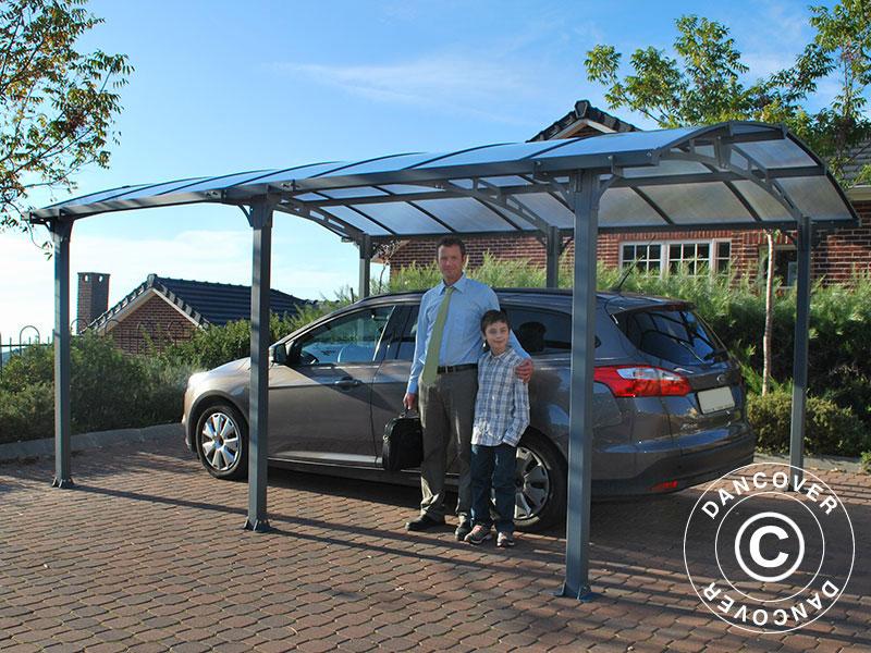 Wiata firmy Dancover chroni Twój samochód każdego dnia