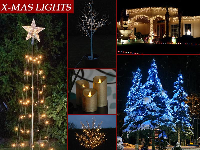 Lampki świąteczne na idealne Boże Narodzenie