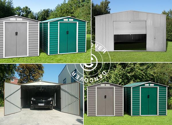 Garaże metalowe - bezpieczne i trwałe rozwiązanie magazynowe