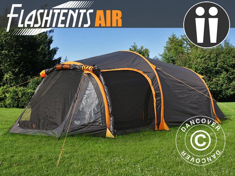 Nadmuchiwane namioty od Dancover – wyjazd na kemping staje się jeszcze łatwiejszy