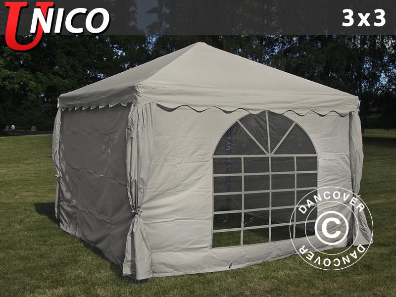 Kolorowe namioty imprezowe na ważne wydarzenia