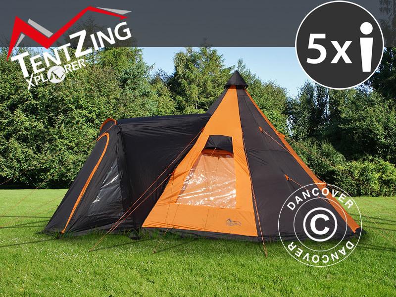 Namioty kempingowe TentZing® Xplorer - świetna funkcjonalność, design i wygoda