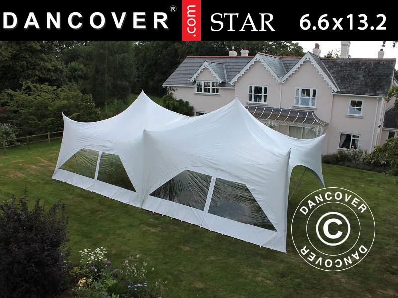 Pole tent 'Star' - nasz nowy, elegancki i naturalny namiot