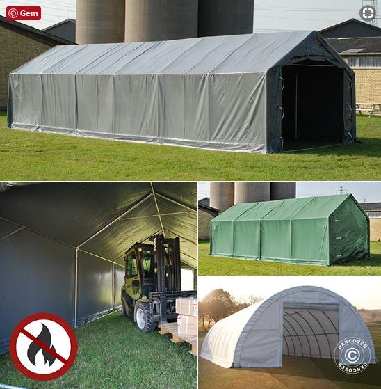 Namioty magazynowe jako elastyczne i niedrogie rozwiązania magazynowe